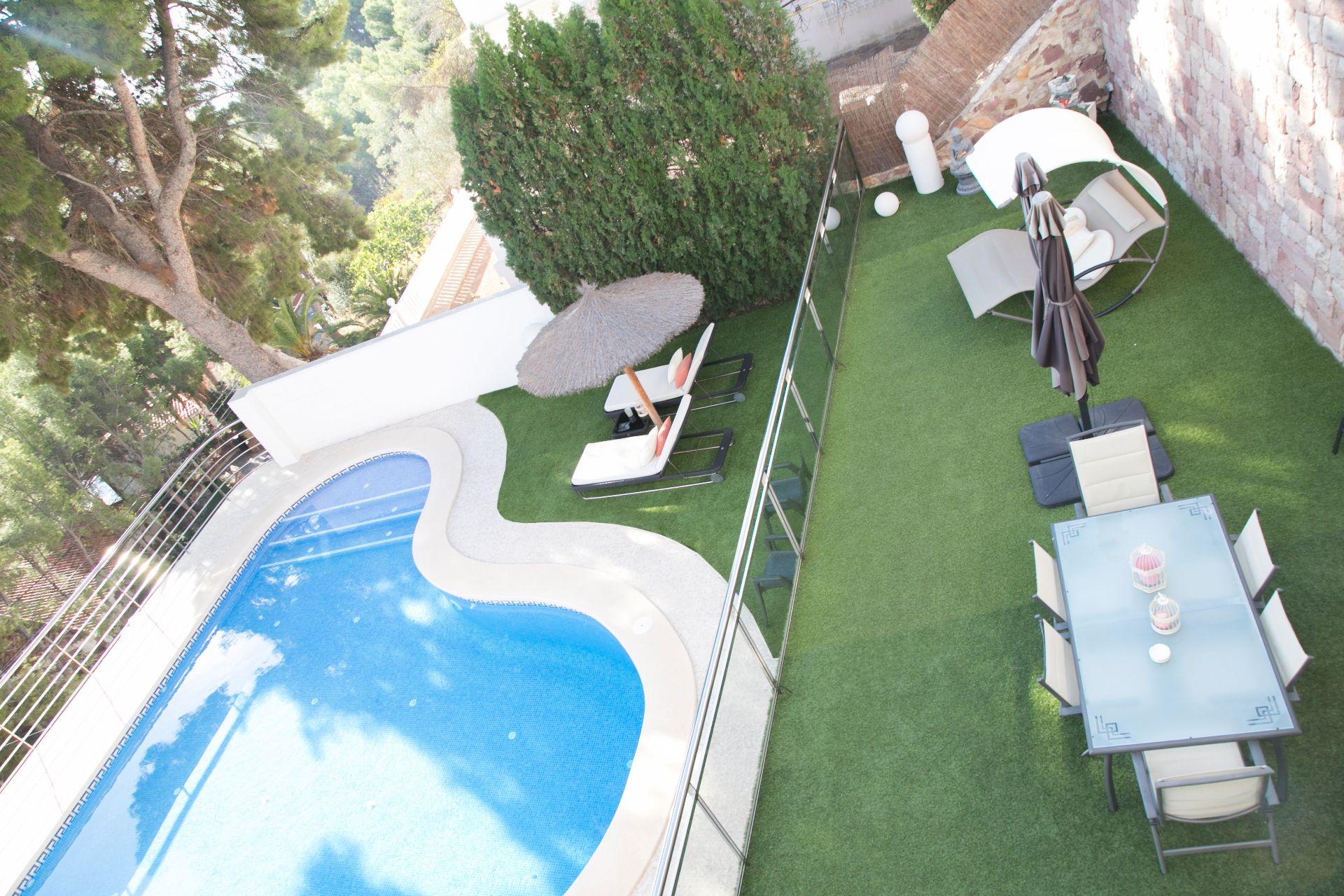 Luksus villa i Sagunto/Sagunt, montepicayo, salg
