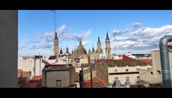 Atico en Zaragoza de 1 habitaciones