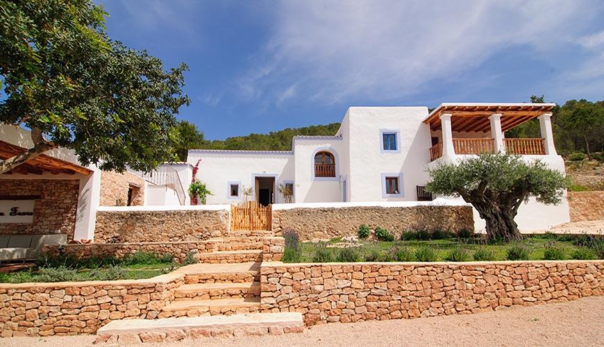 Villa de Lujo en Ibiza, sant antoni de pormany, alquiler vacacional