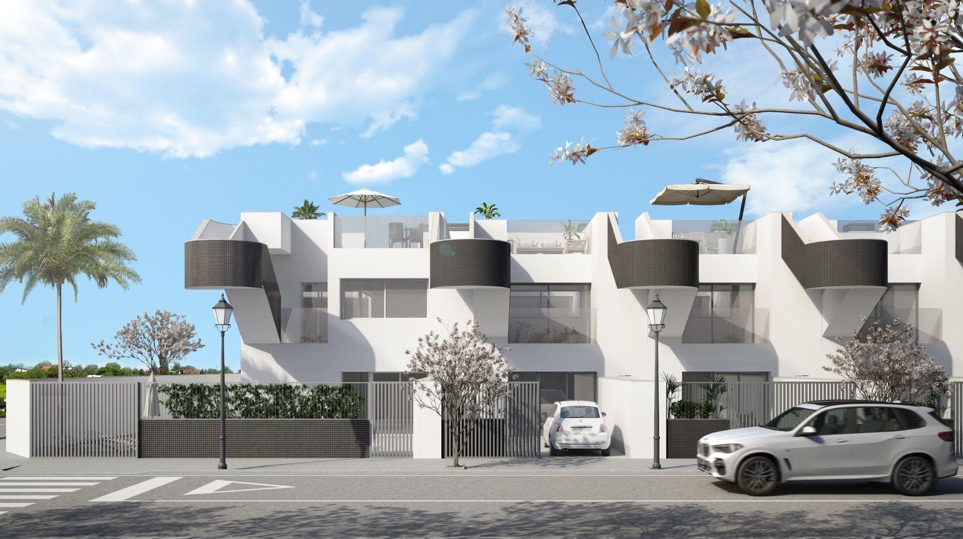 Geschakelde woningen in San Pedro del Pinatar, te koop