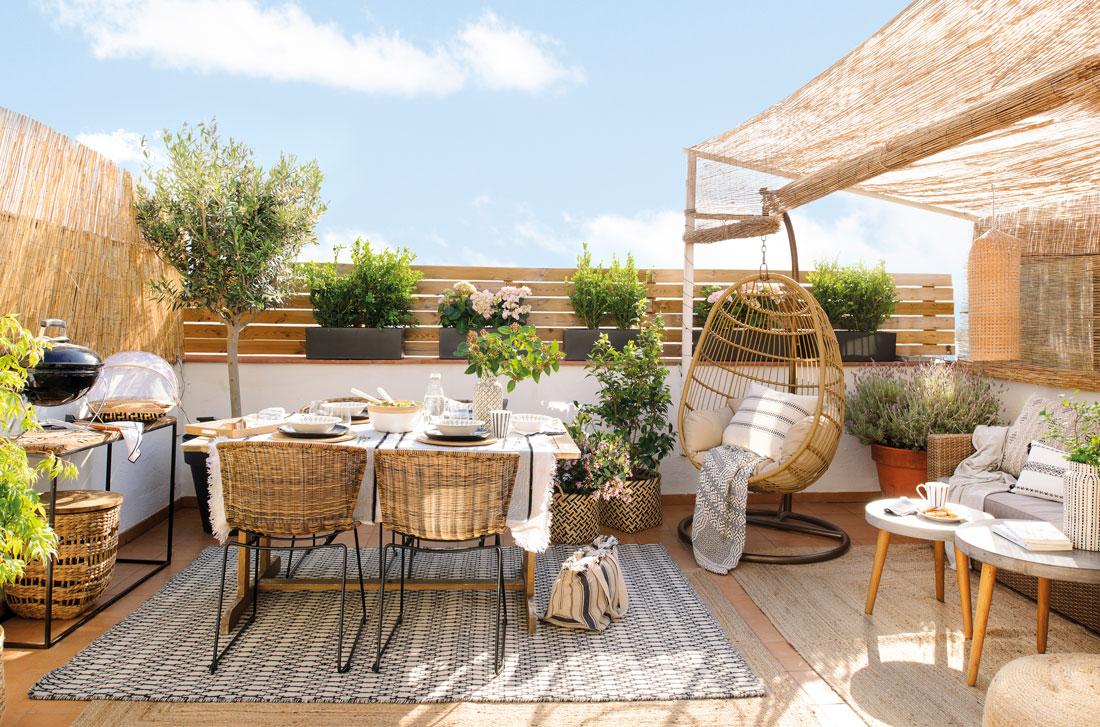 Ventajas de tener una casa con terraza