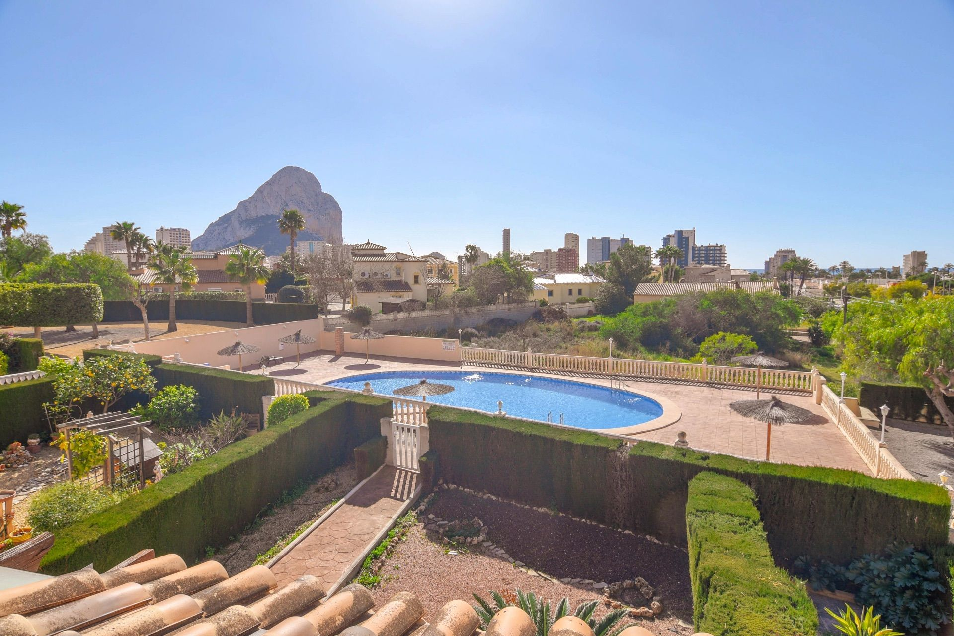 Bungalow in Calpe / Calp, Partida Enchinent, for sale