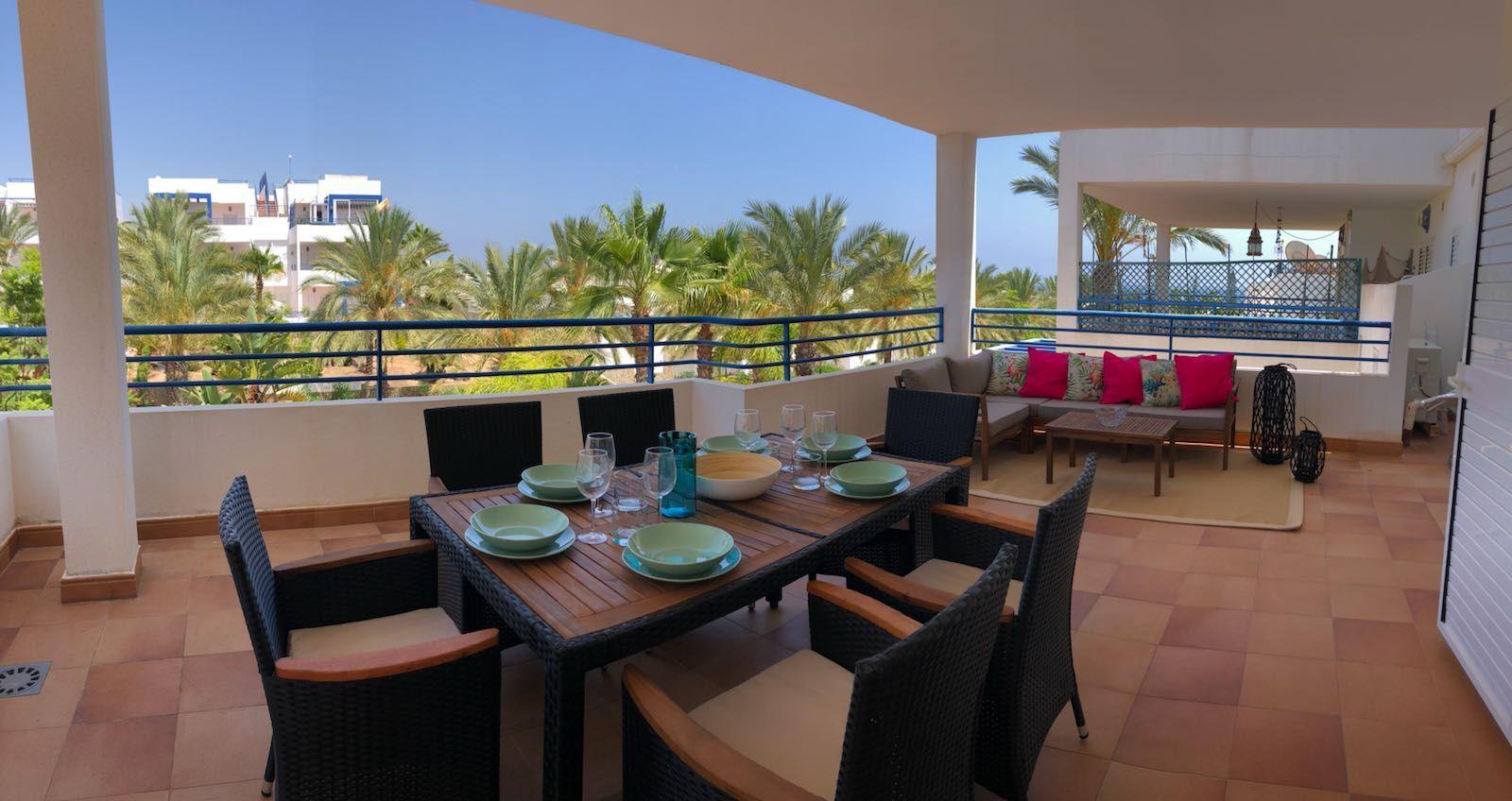 Apartamento en Mojácar, Playa Vista los Ángeles, alquiler vacacional