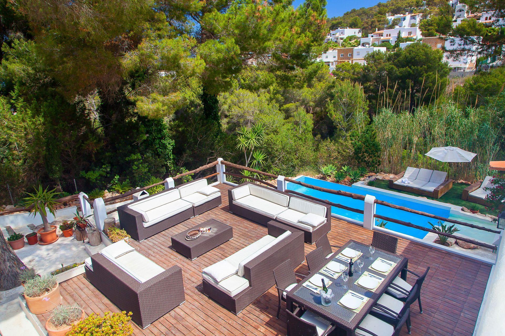 Luxury Villa in Ibiza, Cala Vadella, holiday rentals
