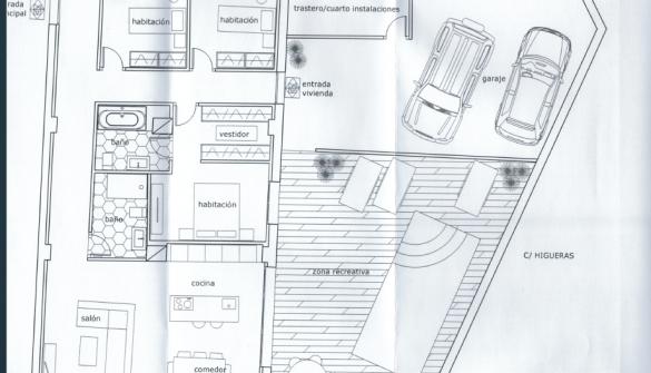 Casa adosada en Segorbe de 1 habitaciones