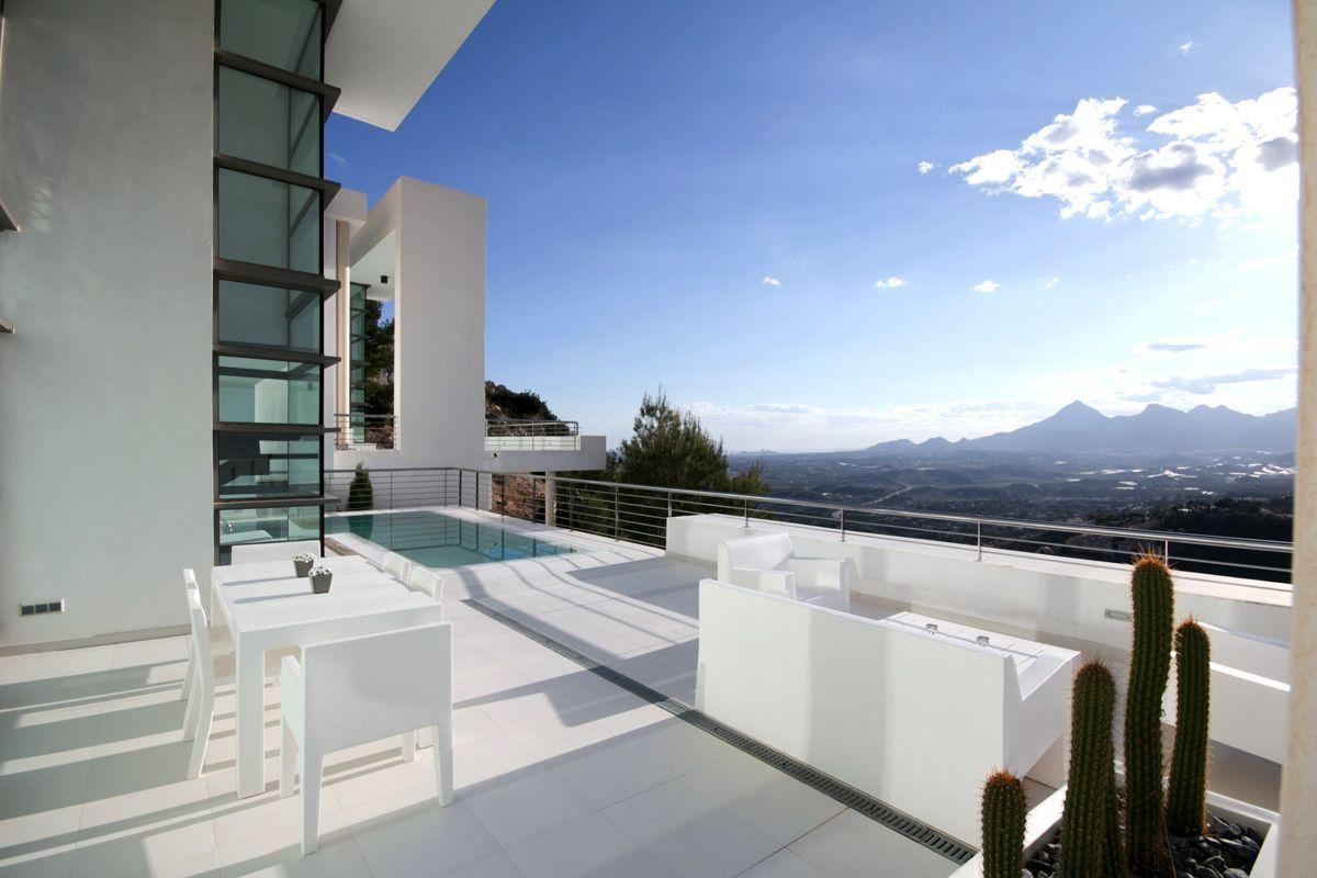 Villa in Altea, Urbanizacion Altea Hills, for rent