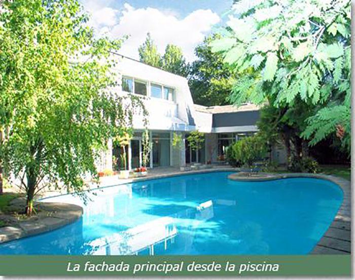 Venta Casa Chalet En Madrid La Florida Con Piscina