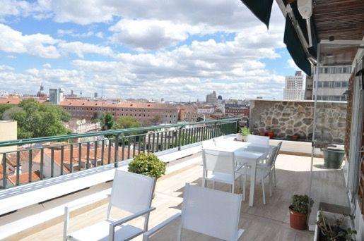 Penthouse à Madrid, ARGÜELLES, location