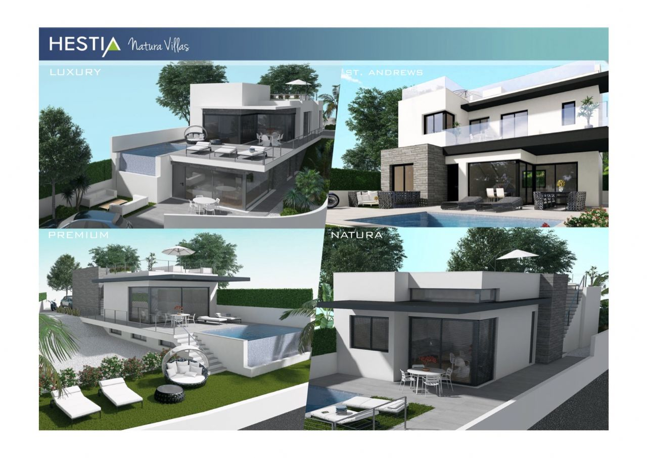 Aerotermi Ad Acqua.New Development Of Luxury Villas In San Miguel De Salinas