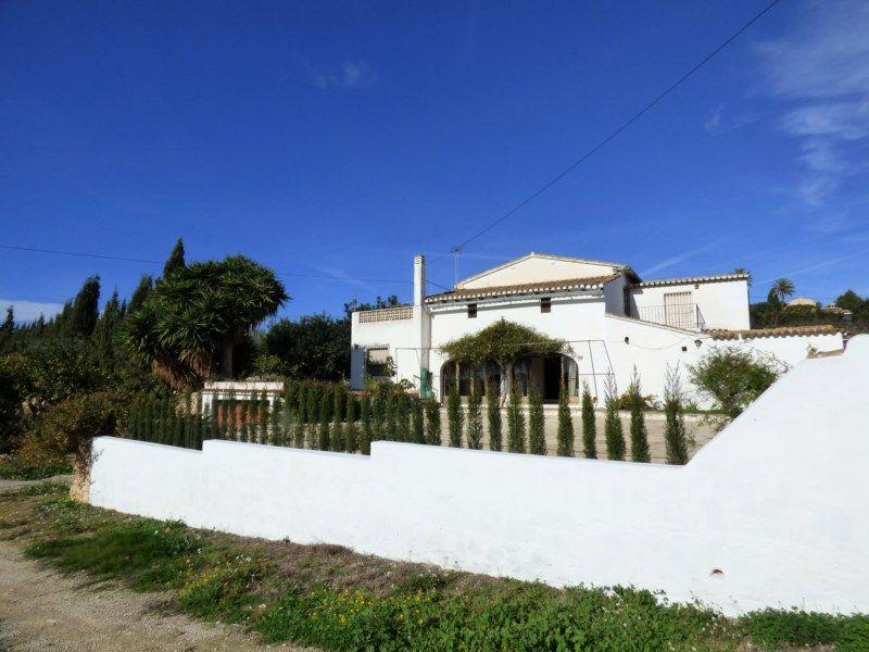 Casa de campo en Benissa, PDA BERDICA, venta