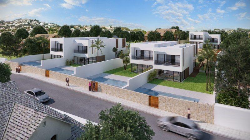 Casa adosada en Moraira, venta