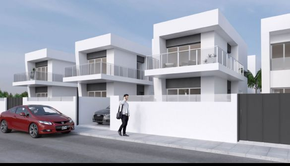 New Development of luxury villas in Daya Vieja