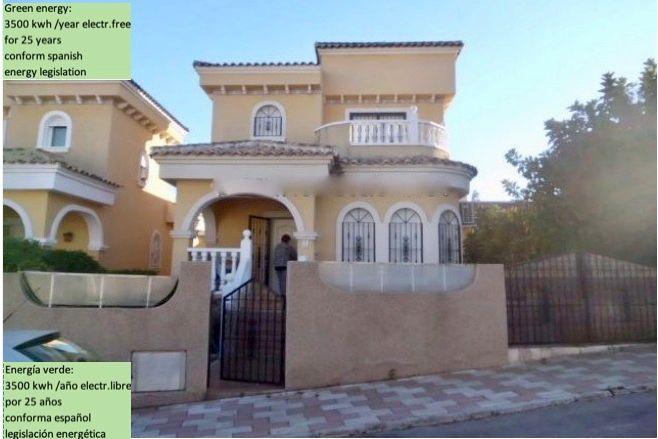 Villa in San Fulgencio, Urbanizacion Costa Marina, for sale
