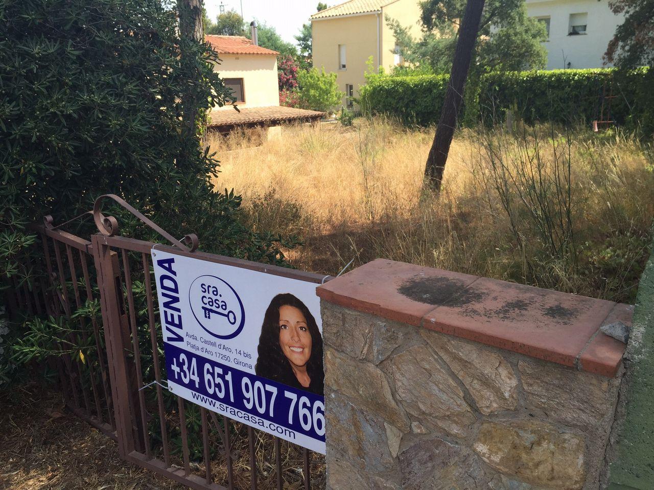 Terreno edificabili in Santa Cristina d'Aro, MAS TREMPAT, vendita