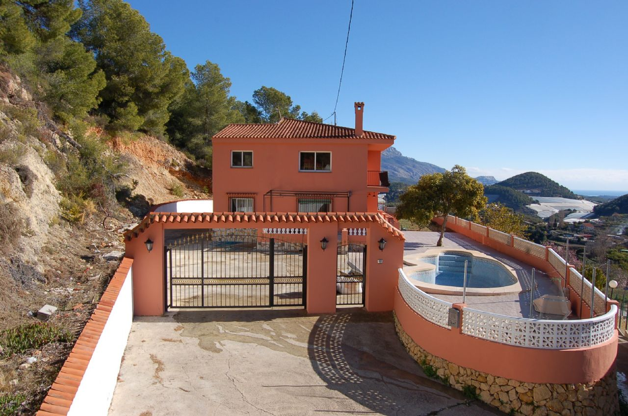 Villa in Polop de la Marina, for sale
