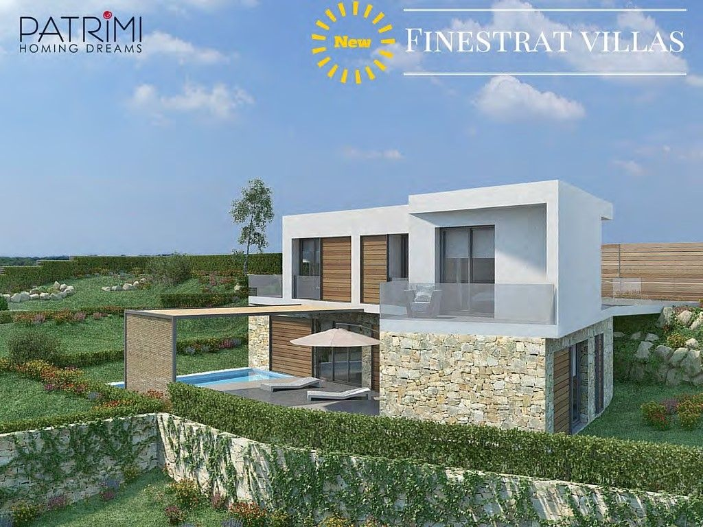 Villa in Finestrat, Sierra Cortina, for sale