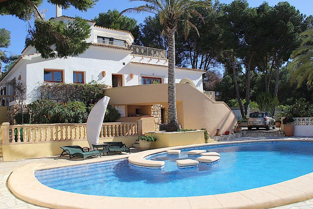 Villa in Moraira, Costera del Mar, te koop