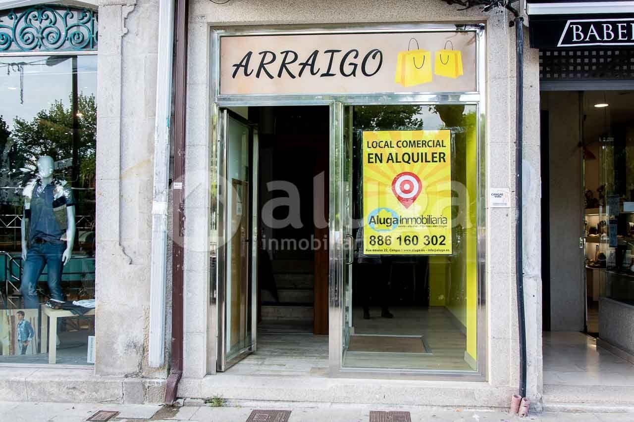 Local comercial en Cangas de Morrazo, Centro, alquiler