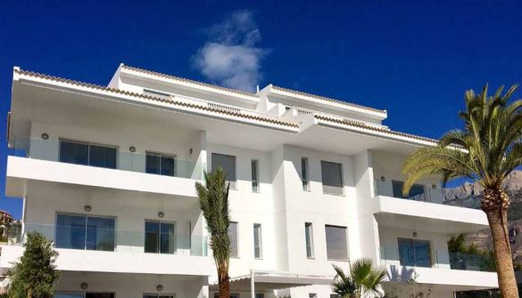 New Development of apartments in Altea