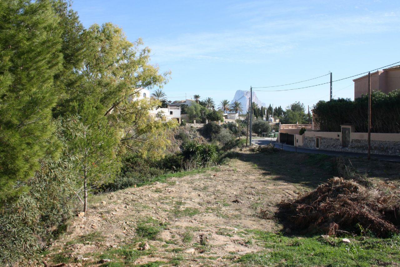 Plot in Calpe / Calp, La Canuta Baja, for sale