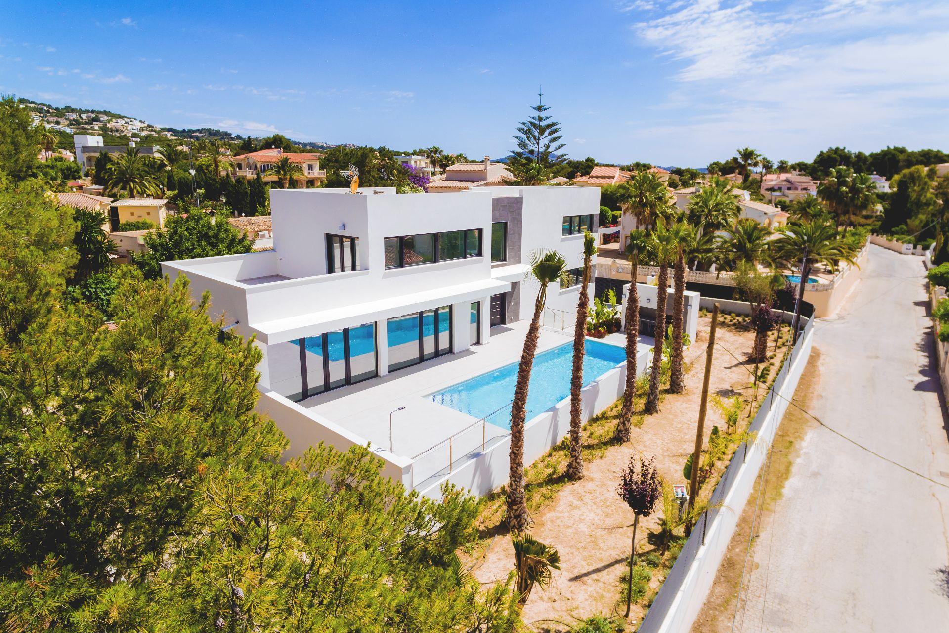Luxe villa in Calpe / Calp, La Fustera, te koop