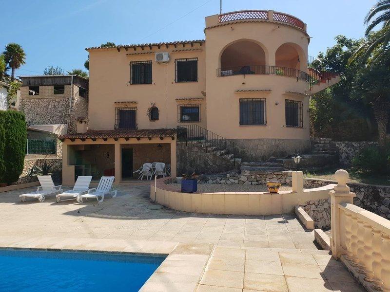 Villa in Benissa, Montemar, for sale