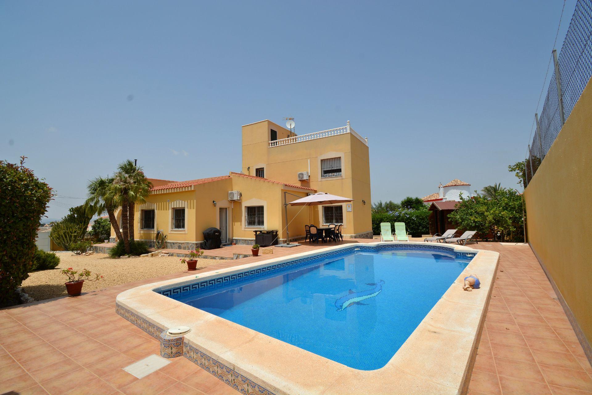 Villa in Torrevieja, EL CHAPARRAL, for sale