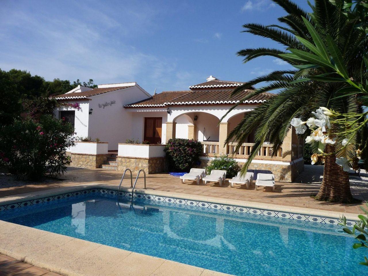 Villa in Jávea, Valle el Sol, holiday rentals