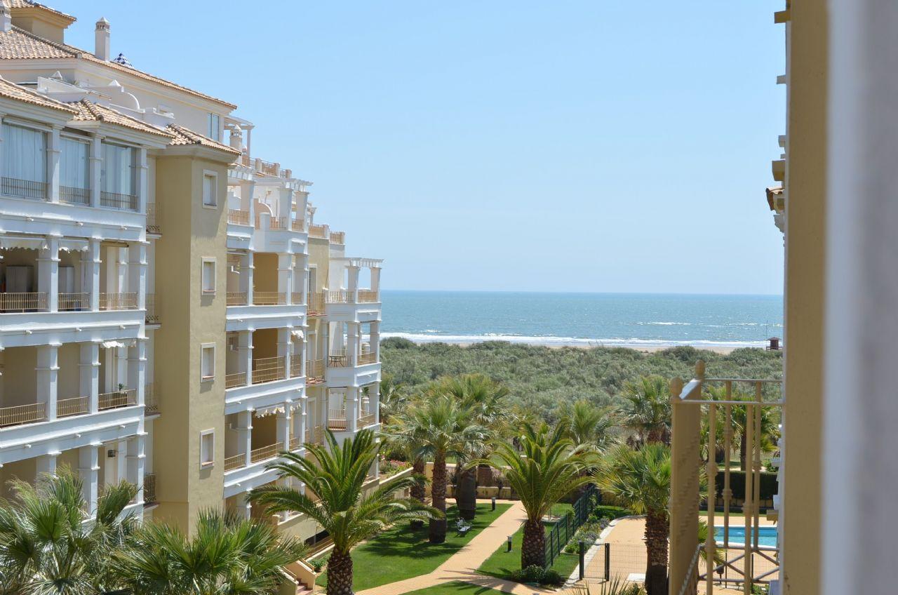 Апартамент в Ayamonte, Residencial Las Dunas, аренда на отпуск