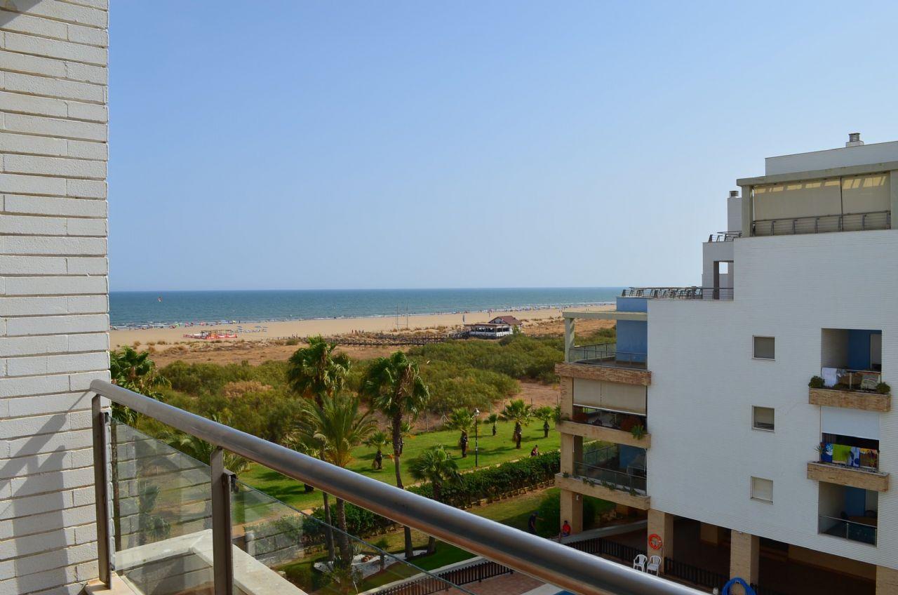 Apartment in Punta del Moral, Residencial El Espigon, ferienmiete