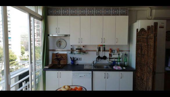 Apartamento en Benidorm de 1 habitaciones