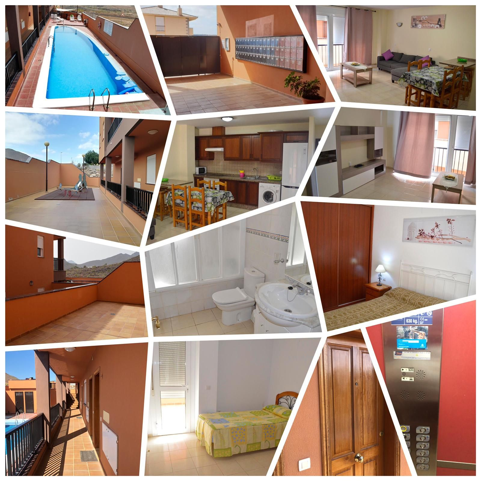 Lägenhet i San Miguel de Abona, LLANO DEL CAMELLO, uthyres
