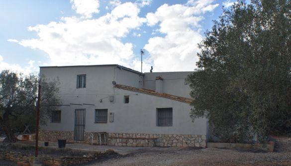 Casa de campo en Camarles de 3 habitaciones