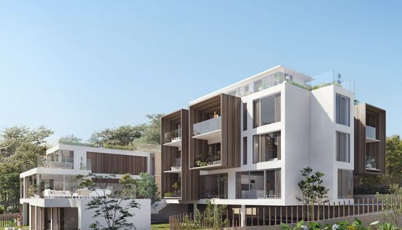 New Development of Building in Llanes