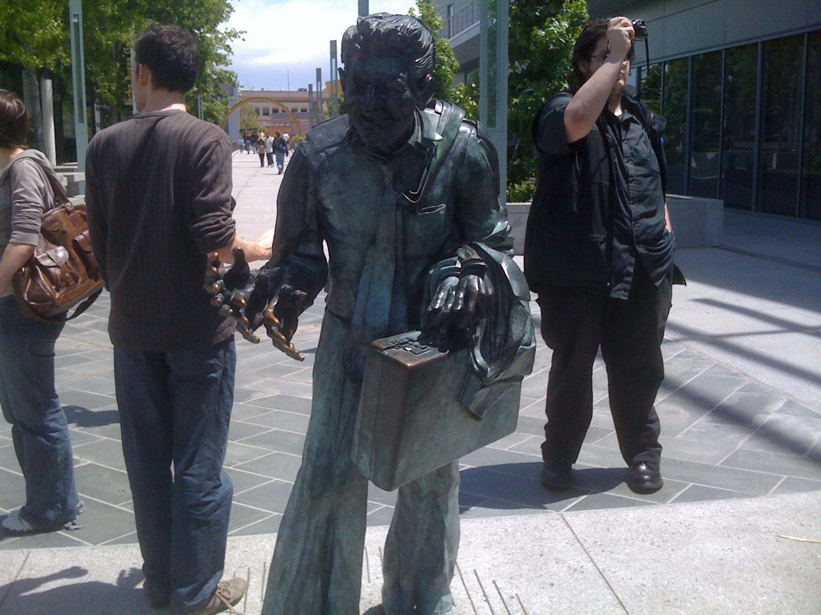 Yerba Buena gardens statue