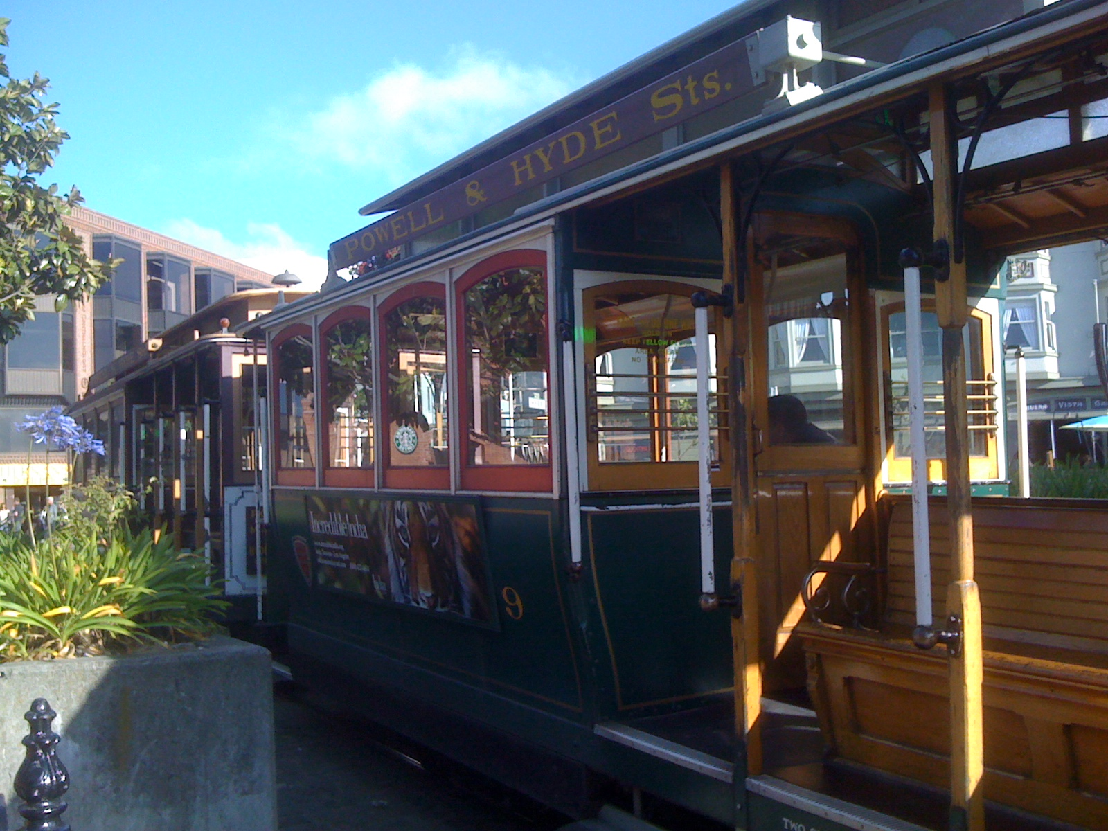 A typical cable car