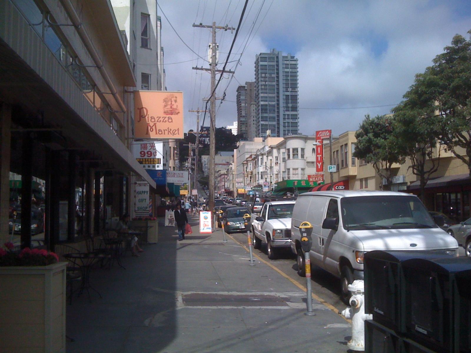 Where Chinatown and Italy merged