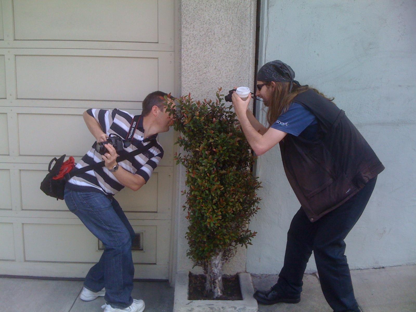 Camera wars