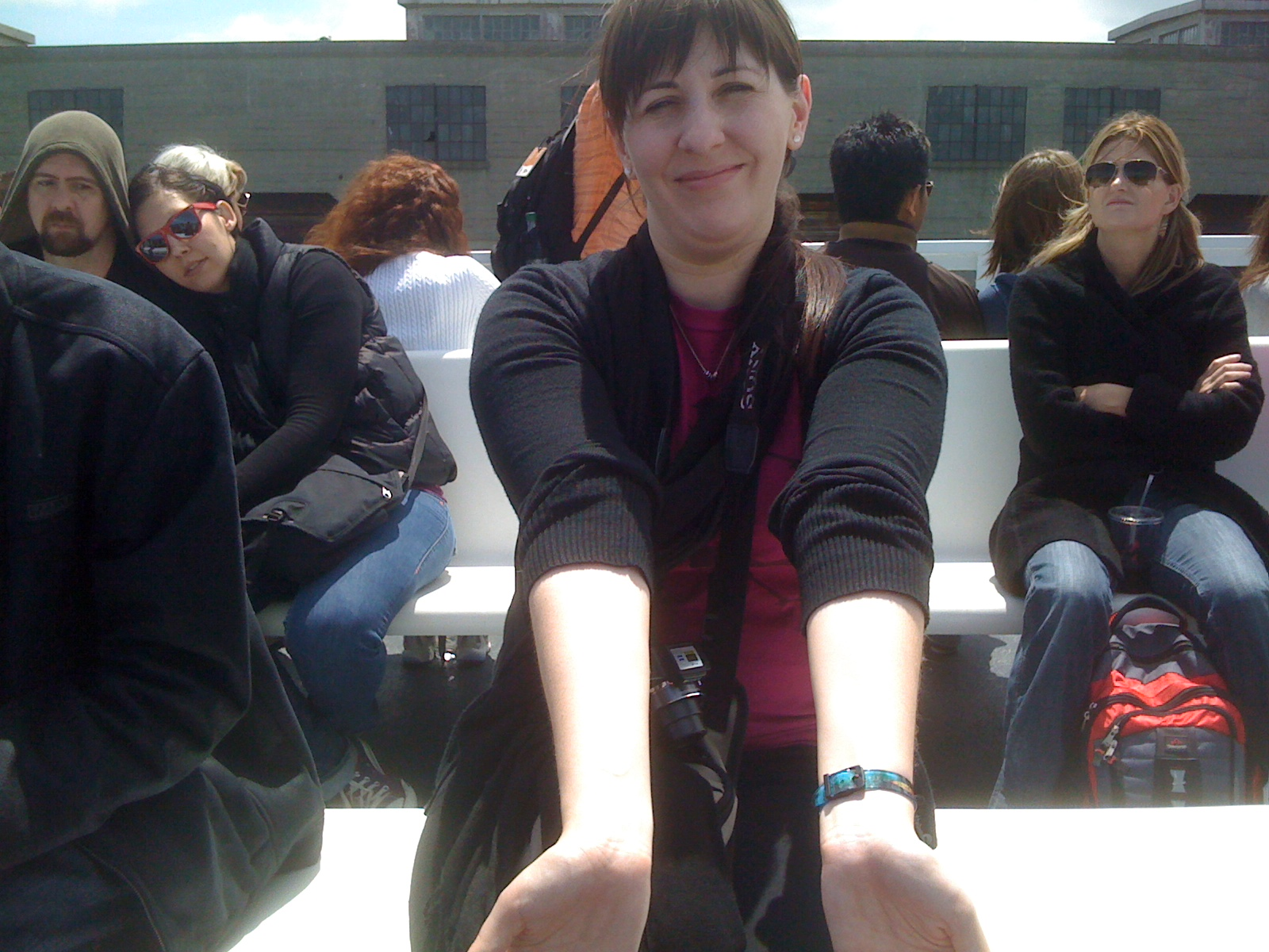 Jess helped invent a new superpower---the Blinding Wrists!
