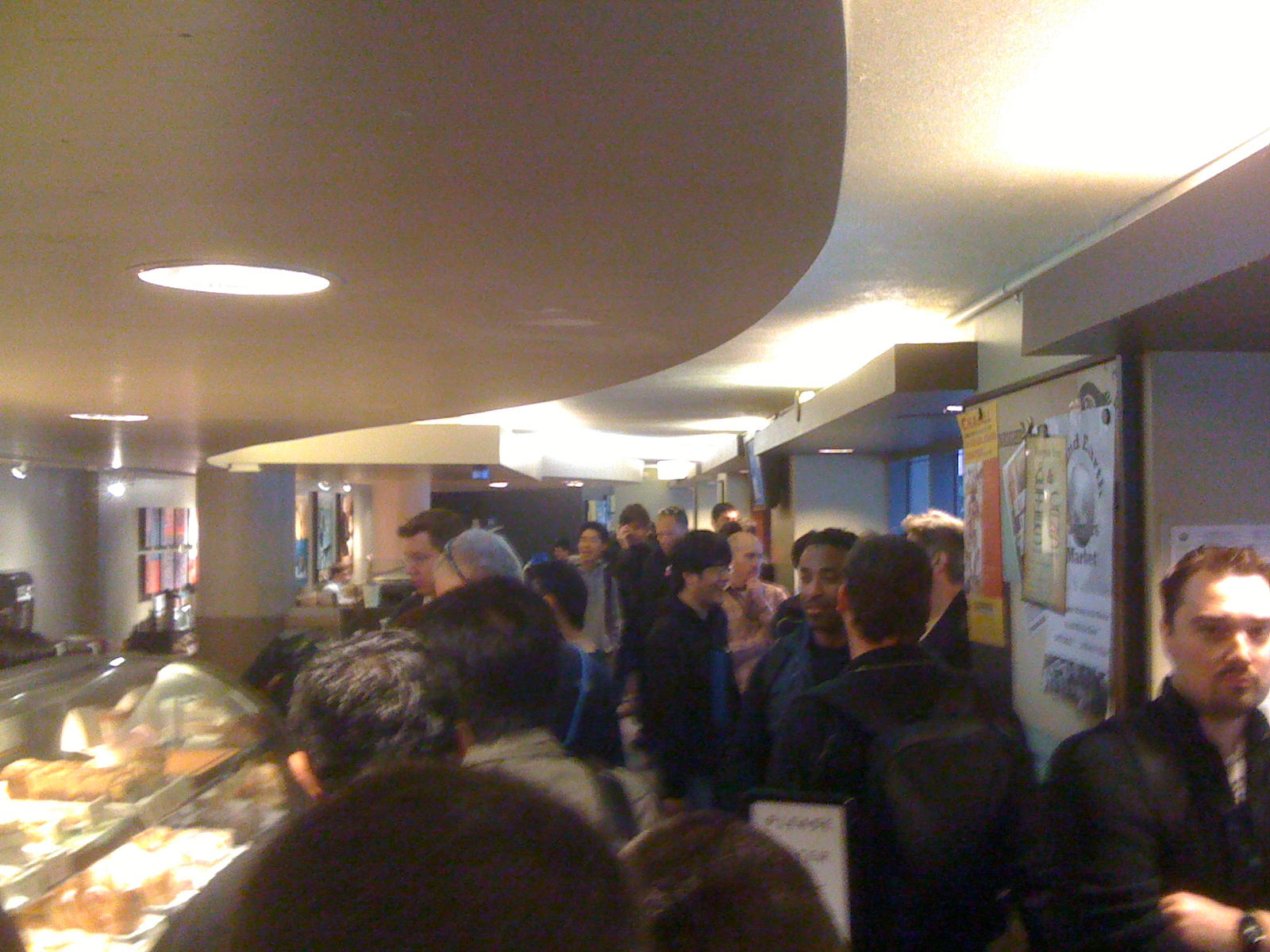 Starbucks queue