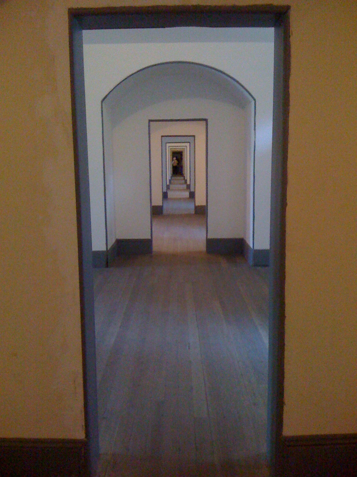 Corridor in Fort Point