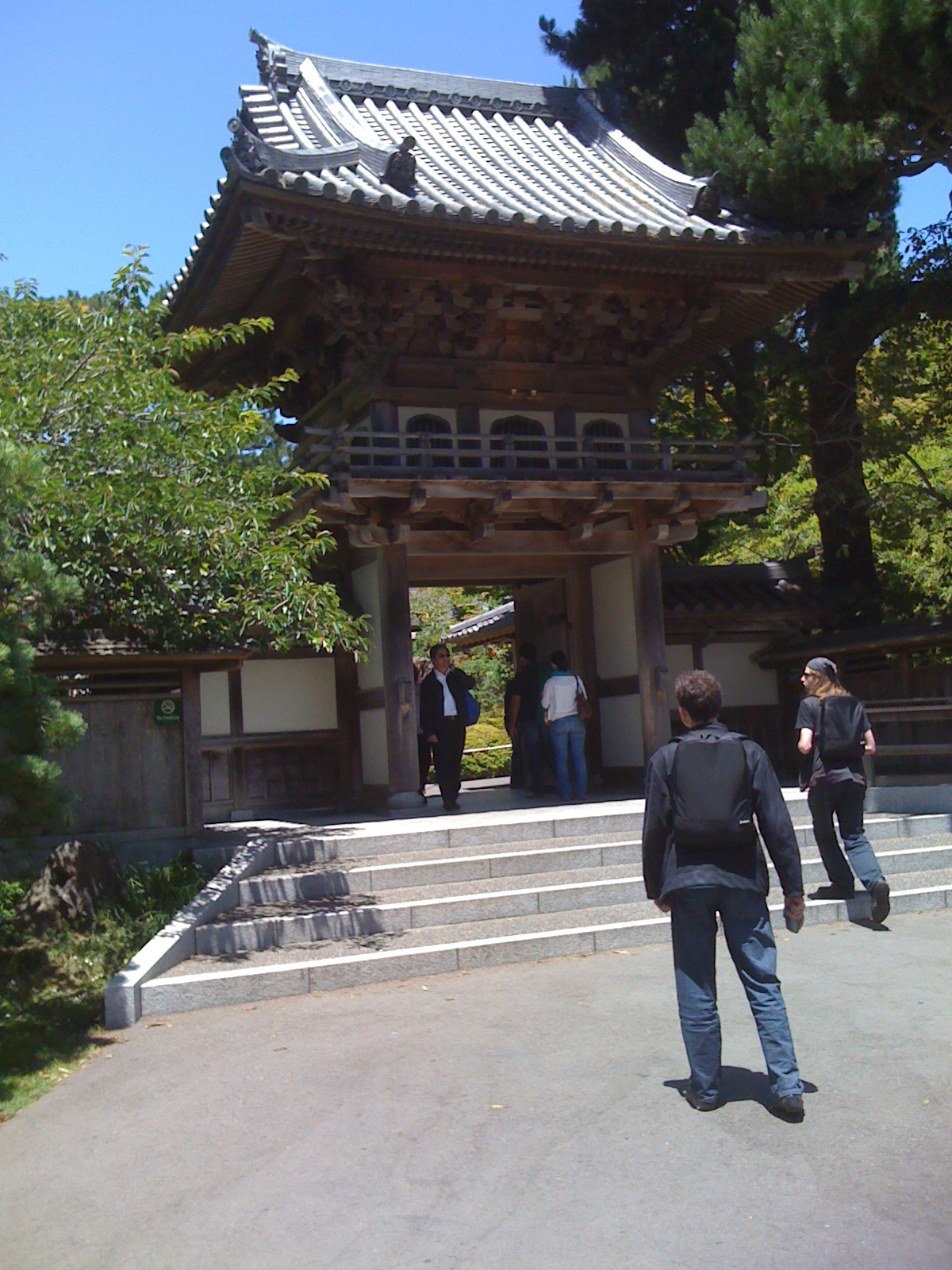 Gate to the Japanese Gardens