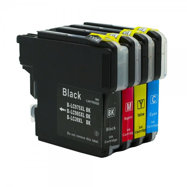 LC985 compatiblelinktpatronen Voordeelpack - 4 stuks