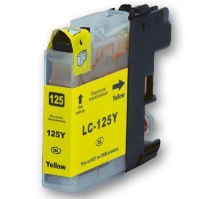 LC125 compatibel inktpatroon geel - 20 ml