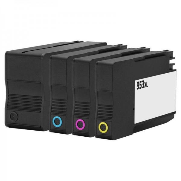 Compatibel inktpatronen nr. 953XL voordeel set - 4 stuks