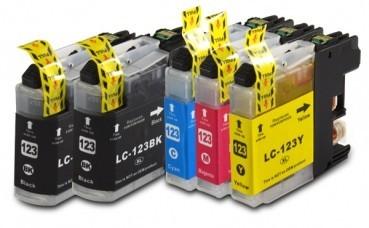 LC123 Compatibel inktpatronen Set - 5 stuks