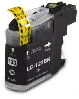 LC123 Compatibel inktpatroon zwart - 20 ml