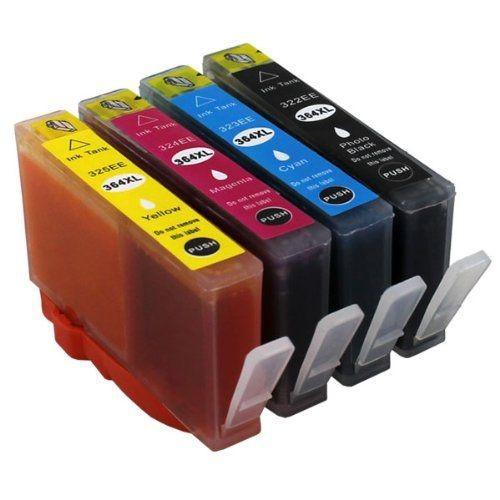 364 XL compatibel inkpatronen voordeel set - 4 stuks