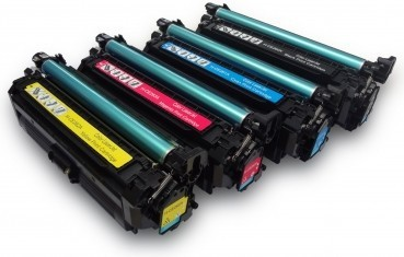 Toners compatibel 648A-649X voordeelpack CE260X-CE263A 4 stuks