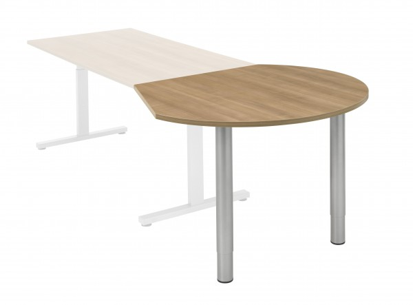 Aanbouwtafel Vamo - Druppel